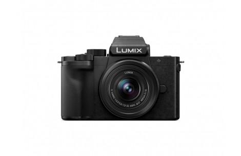 Panasonic LUMIX G110 Kit G 12-32mm F3,5-5,6 und Stativ-Griff DMW-SHGR1