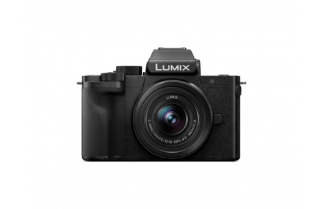Panasonic LUMIX G110 Kit G 12-32mm F3,5-5,6 + 35-100mm schwarz