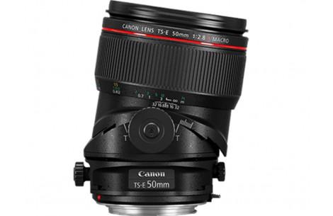 Canon TS-E 50mm F2,8 L Macro