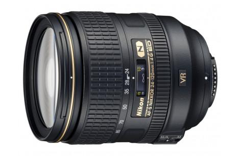 Nikon AF-S NIKKOR 24-120mm F4,0 G ED VR