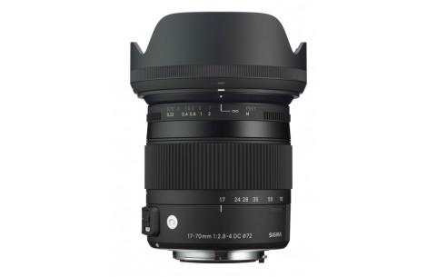 Sigma AF 17-70mm F2,8-4,0 DC OS HSM Mac -C- für Nikon