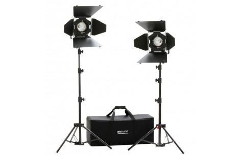 Hedler DX 15 Taglicht Kit inkl. Stative mit 2 Leuchten