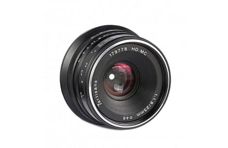 7Artisans 25mm f/1,8 für MFT