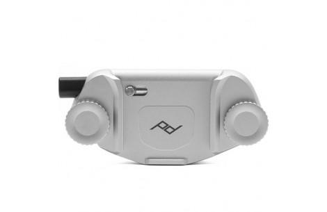 Peak Design Capture Clip v3 Silver Kameraclip für DSLR-/DSLM-Kameras an Gurten oder Gürteln