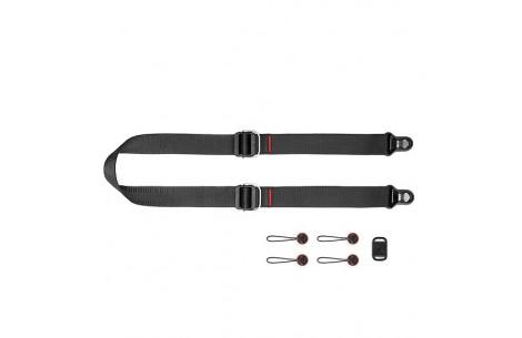 Peak Design Slide Lite Black Kameragurt für Einsteiger-DSLRs und größere spiegellose DSLM