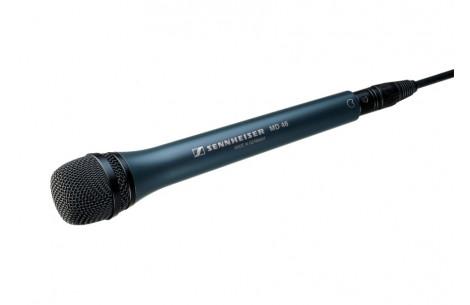 Sennheiser MD46 Reportagemikrofon, sw