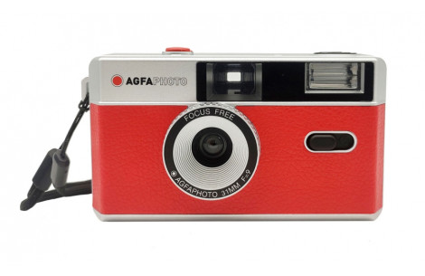 AgfaPhoto Analoge 35mm Foto Kamera rot
