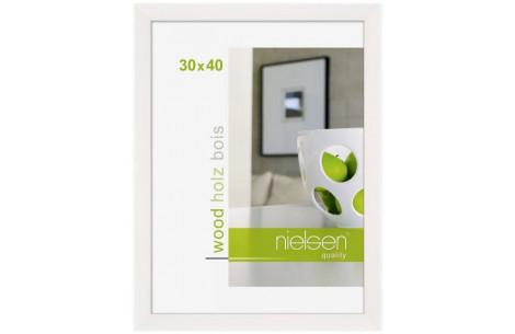 Nielsen Holzrahmen Essential 30x40 weiß
