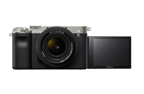 Sony Alpha ILCE-7C Kit + Sony FE 28-60mm F4-5.6 silber