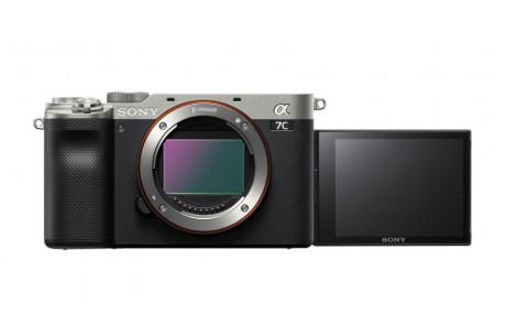 Sony Alpha ILCE-7C Gehäuse silber