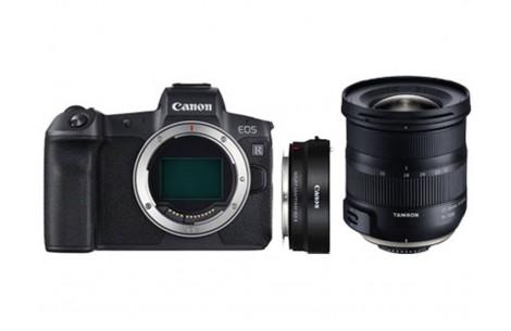 Canon EOS R Gehäuse + Adapter EF-EOS R + Tamron AF 17-35mm F2,8-4,0 Di OSD für Canon