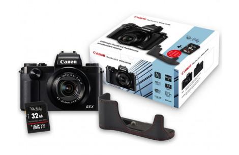 Canon Powershot G5X Special Edition + Tasche + Speicherkarte