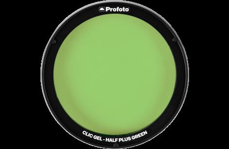 Profoto Clic Gel Half Plus Green