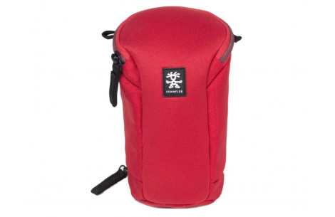 Crumpler Base Layer Lens Case S clear red/ grey