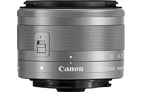 Canon EF-M 15-45mm F3,5-6,3 IS STM silber