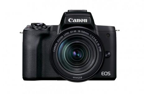 Canon EOS M50 Mark II Gehäuse - Schwarz + EF-M 18-150mm f3.5-6.3 IS STM Kit