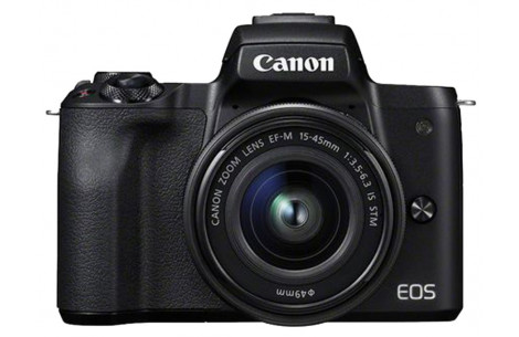 Canon EOS M50 Kit + EF-M 15-45mm 3,5-6,3 IS STM schwarz