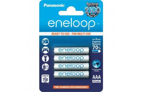 Panasonic eneloop Micro AAA  4er Pack 750mAh