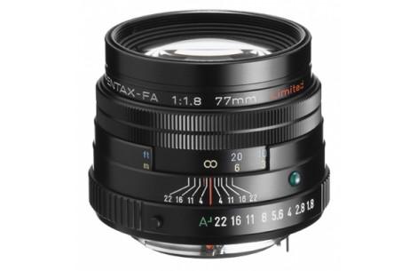 Pentax FA  77mm F1,8 Limited schwarz