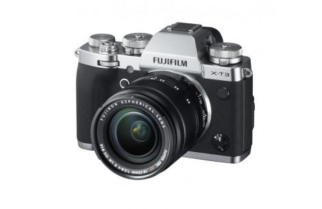Fujifilm X-T3 Kit + XF 18-55mm F2,8-4,0 R LM OIS silber
