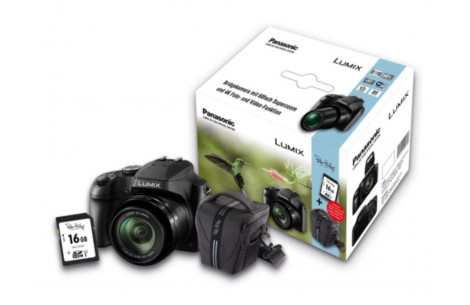 Panasonic Lumix DC-FZ83 Special Edition,  inkl. Tasche und 16 GB SDHC Speicherkarte
