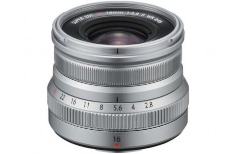 Fujifilm Fujinon XF 16mm F2,8 WR silber