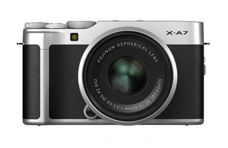 Fujifilm X-A7 silver + XC 15-45mm F3,5-5,6 OIS PZ