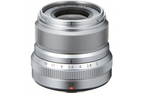 Fujifilm Fujinon XF 23mm F2,0 R WR silber
