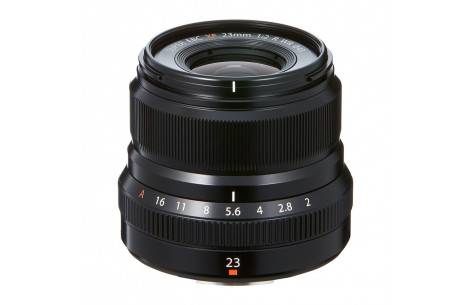 Fujifilm Fujinon XF 23mm F2,0 R WR schwarz
