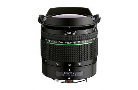 Pentax DA 10-17mm / 3.5-4.5 ED HD Fish Eye