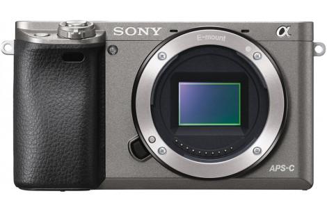 Sony Alpha ILCE-6000 Gehäuse graphitgrau