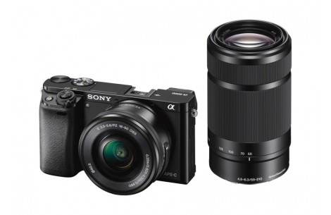 Sony Alpha ILCE-6000  Kit + Sony 16-50mm F3,5-5,6 OSS &  55-210mm F4,5-5,6 OSS