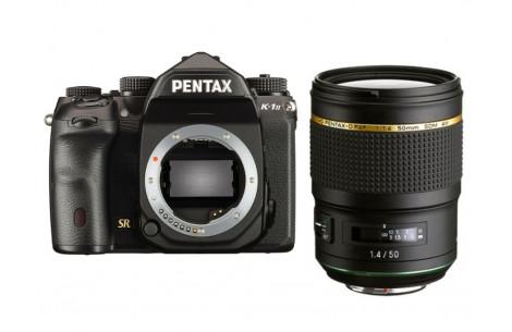 Pentax K-1 Mark II Kit + HD Pentax-D FA* 50mm F1,4 SDM AW