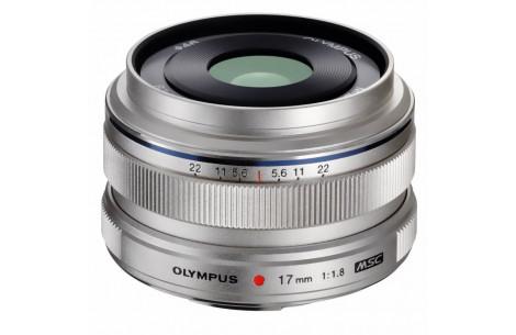 Olympus M.ZUIKO DIGITAL 17mm F1,8 Silber