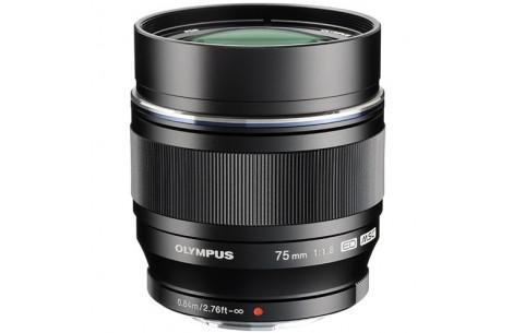 Olympus M.ZUIKO DIGITAL 75mm ED F1,8 schwarz