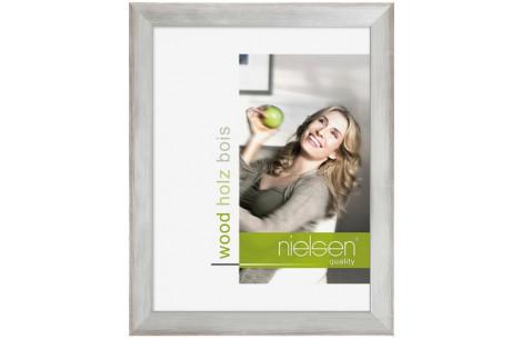 Nielsen Holzrahmen Essential 50x70 silber/anthrazit