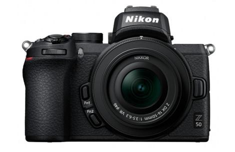 Nikon Z50 Kit + DX 16-50 mm 1:3.5-6.3 VR