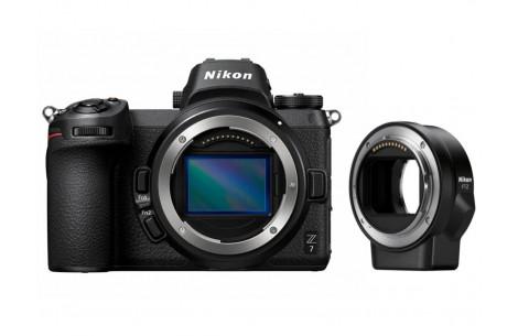 Nikon Z7 Gehäuse + FTZ Adapter + 64 GB XQD