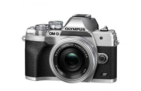Olympus OM-D E-M10 Mark IV Kit + 14-42mm EZ silber