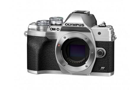Olympus OM-D E-M10 Mark IV Gehäuse silber