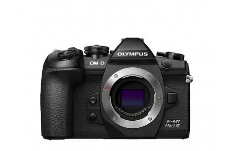 Olympus OM-D E-M1 Mark III Gehäuse schwarz