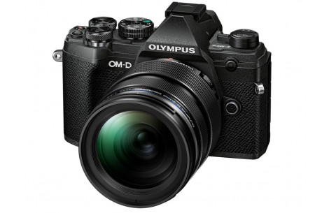 Olympus OM-D E-M5 Mark III 12-40mm Kit, schwarz