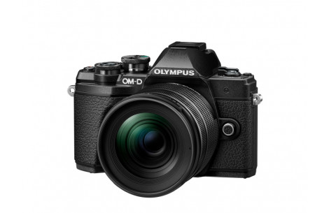 Olympus OM-D E-M5 Mark III 12-45mm Kit, schwarz/schwarz