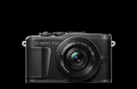 Olympus PEN E-PL10+ 14-42 EZ Kit schwarz/silber