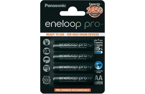 Panasonic Eneloop Pro Mignon (AA) Akku 2450 mAh BK-3HCCE