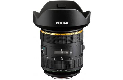 Pentax HD DA 11-18mm F2,8 ED DC AW