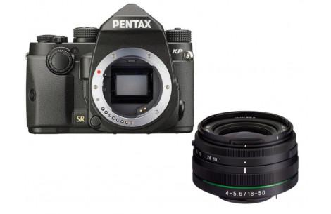 Pentax KP + 18-50mm WR schwarz