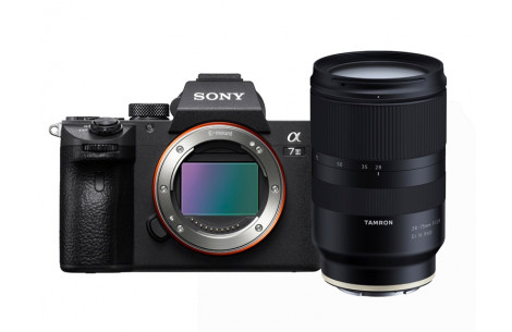 Sony Alpha ILCE-7 III Kit + Tamron AF 28-75mm F2,8 Di III RXD