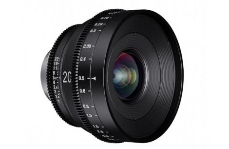 Samyang 20mm T1.9 XEEN Cine Lens Canon