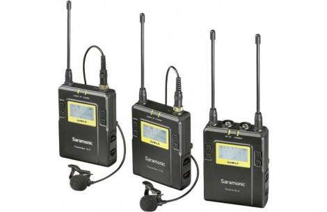 Saramonic UwMic9 Kit 2 TX9+TX9+RX9 2x Transmitter + Receiver